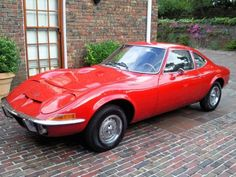 1971 Opel GT, sold at Buick Dealers