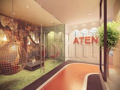 Walkway towards the reception. Office interior design by Traart Private Limited. Interior Design Process, Office Interior Design, Office Interiors, Shops, Glass Partition, Walkway, Bathroom Accessories, Most Beautiful Pictures, In The Heights