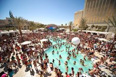 From Rehab to Wet Republic: our guide to Vegas pool parties.