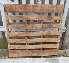Wall Organizer Made From Pallets