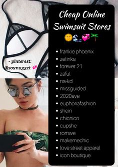 @soynugget - affordable online swimsuit stores