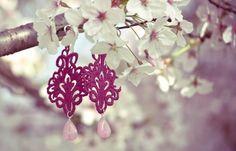 fucsia Giglio earrings