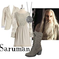 "Lord of the Rings/ The Hobbit-  ""Saruman"" by companionclothes on Polyvore"