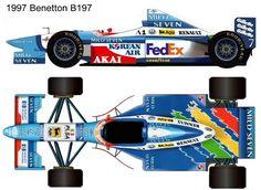 1997 Benetton B197