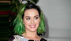 Nuova tendenza: capelli verdi! E ovviamente Katy è stata una delle prime a tingersii capelli! ;)