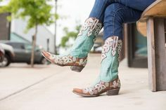 10 Turquoise Boots from Heaven: http://www.countryoutfitter.com/style/10-turquoise-boots-heaven/?lhb=style