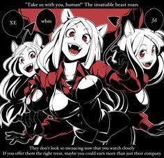 Fanarts Anime, Manga Anime, Anime Art, Anime Monsters, Anime Devil, Anime Girl Hot, Demon Girl, Fan Art, Art Sketches