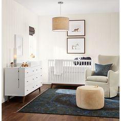Flynn Crib - Flynn Crib with Toddler Conversion Rail - Kids - Room & Board