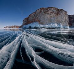 Frozen Lake Baikal  THE 10 MOST AMAZING PHOTO OF FROZEN WINTER:  http://chirkup.me/a/the-10-most-amazing-photo-of-frozen-winter.html?utm_source=Facebook&utm_medium=InterestingThings&utm_campaign=IT313