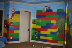 Lego boy room ideas...Matthew would be in HEAVEN!