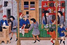 Medieval faire market