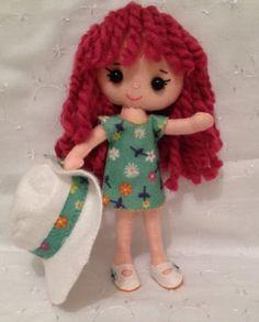 Pierina Pocket Poppet   [Pattern  Gingermelon]