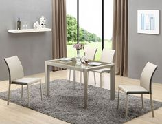 Stylefy seating group Arabis made of brown glass + 6 chairs-Stylefy Sitzgruppe Arabis aus Glas Braun + 6 Stühle Stylefy seating group Arabis made of brown glass + 6 chairs - Extendable Dining Table, Dining Bench, Dining Chairs, Outdoor Furniture Sets, Outdoor Decor, Lounge, Restaurant, Glass, Interior