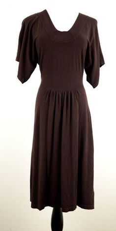 Mossimo Brown Short Sleeve Dress Size XS