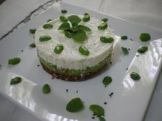 Cheesecake di fave e pecorino