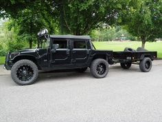 Image Detail for - ... hummer h1 alpha custom sema show truck with trailer « The Hummer Guy
