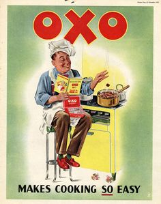 1950's advertising posters