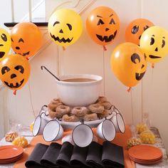 #Pumpkin #Balloons #Halloween #Decorations www.marthastewart.com