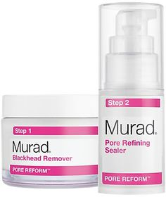 Pin for Later: Say Bye-Bye to Blackheads Without Squeezing a Single Spot Murad Blackhead Pore Clearing Duo Murad Blackhead Pore Clearing Duo (£50)