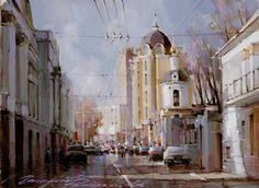 Гаппасов Рамиль. Москва. Колымажный переулок.
