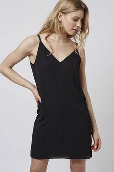 Photo 3 of PETITE Cross-Back Slip Dress