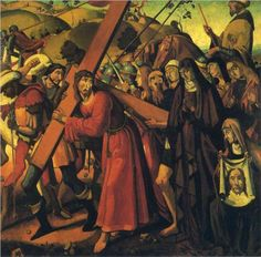 The Road to Calvary - Andre Derain -1901/ Style: Expressionism