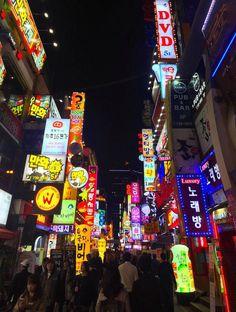 Top things to see in South Korea - Seoul at night is stunning! South Korea Seoul, South Korea Travel, South Korea Beauty, South Korea Fashion, South Korea Photography, Bukchon Hanok Village, Korea Wallpaper, Hongkong, Thailand