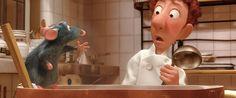 Last week both YumSugar and I had the pleasure of attending early screenings of the new Disney/Pixar movie Ratatouille . After watching the fabulously fun tale Ratatouille Disney, Ratatouille 2007, Food Film, Disney Pixar Movies, Famous Cartoons, Disneyland Paris, Disney Love, Walt Disney, Gastronomia