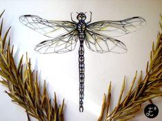 Dragonfly. ESTRELLA A.C Illustration www.facebook.com/estrellaacdesign http://lashuellasdeestrella.blogspot.com.es/