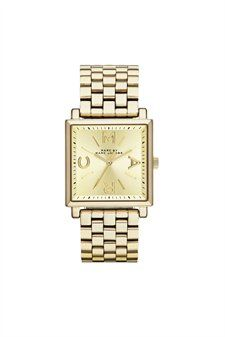 Watches - Womens - Marc Jacobs - good choice - just a little bright gold, darker goldtone would be perfect