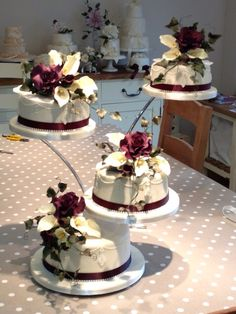 STUDENTS own Wedding Cake Created during private tuition sessions with us ....