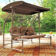 1000+ images about Patio Swings With Canopy on Pinterest ...