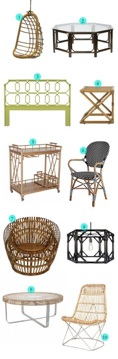 Chic Rattan Furniture || Havenly