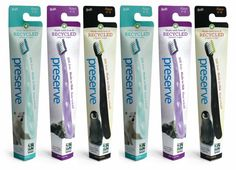 Feingold friendly Kids Toothbrush, Six Pack without dyes in bristles
