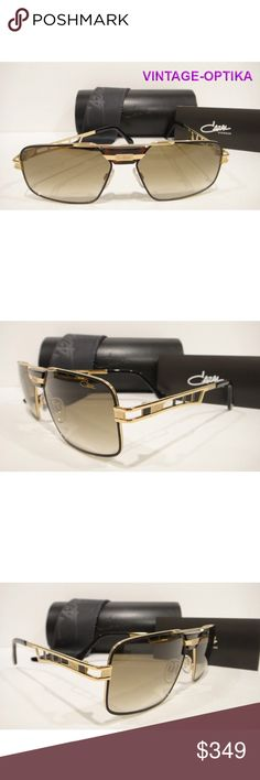 b957010fdbbe CAZAL 746 3 SUNGLASSES BLACK GOLD (302) AUTHENTIC These are 100% Genuine
