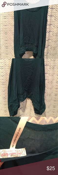 Free people lounge top Only worn once.  Great, new condition. Free People Tops Tank Tops