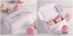 All your cupcakes will fit nicely in our boxes! http://selfpackaging.com/2214-simple-cupcake-box-with-lid-76.html?size=2 #cupcakes #baking #packaging #homemade