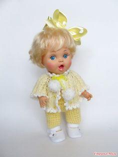 Вязаная одежда на кукол BABY FACE