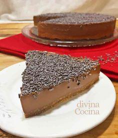 ¿Te imaginas una tarta de chocolate fácil sin horno y que siempre salga bien? Pues ya la has encontrado!! Una delicia sencilla para amantes del chocolate.
