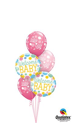 Qualatex Welcome Home Baby Bouquet