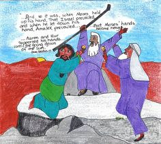 crafts for israel defeats the amalekites