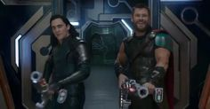 'Thor: Ragnarok' Comic-Con Trailer Is So Good - Watch Now!: Photo The new trailer for Chris Hemsworth's upcoming Marvel superhero movie Thor: Ragnarok just debuted at 2017 Comic-Con and you can watch it here! In the new film,… New Thor, Loki Thor, Tom Hiddleston Loki, Loki Laufeyson, Infinity War, Chris Hemsworth, Thor Ragnarok 2017, Walt Disney, Watch Thor