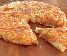 Crisp Rosti Potatoes Recipe - Essentially a giant latke, rösti potatoes are the Swiss version of the classic potato pancake. Serve it topped with smoked salmon, sour cream with chives, or braised Savoy cabbage.
