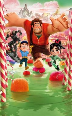 Wreck-It Ralph movie key art