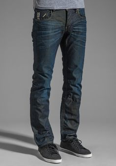 G-STAR Attacc Low Straight in Explore Denim Worn In at Revolve Clothing - Free Shipping!