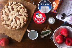 #breakfast #viola #ricotta #cake #apple