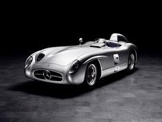 Stirling Moss won the 1955 Mille Miglia in a Mercedes-Benz 300 SLR
