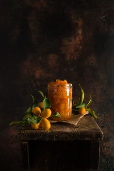 Delicious, flavorful and very quick kumquat jam, made with honey