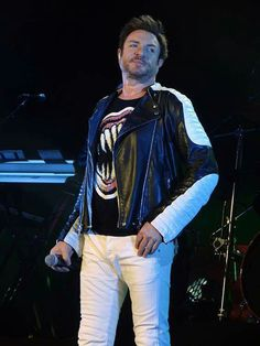 Simon Le Bon...I really love this man, his music is amazing, his voice is beautiful and out of this world, he's gorgeous and just so perfect! *Le Swoon*