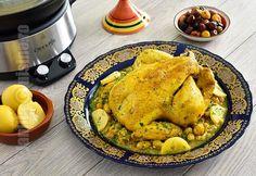 Reteta de pui marocan cu masline la slow cooker Crock-Pot m-a cucerit din prima clipa. Am mancat-o recent in Maroc si atat de tare mi-a placut incat am refacut-o si eu acasa, incercand sa imit gustul demential pe care il avea preparatul marocan.